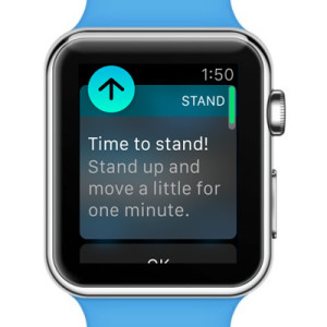 apple watch time to stand reminder