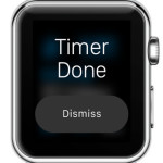 apple watch timer done alert