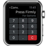 apple watch unit converter