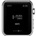apple watch wifi transfer widget