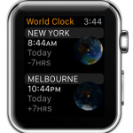apple watch world clock app