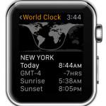 apple watch world clock city details