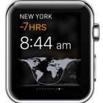 apple watch world clock glance