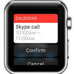 creating new calendar event on apple watch using Siri