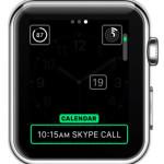 customizing calendar complications on watch face