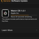 downloading os 1.0.1 update to watch