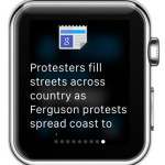 google news apple watch glance