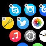 hide apps on apple watch