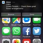 inbox iphone banner notification options
