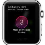 macid apple watch glance