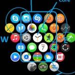 rearrange apps on apple watch home screen