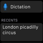 recent landmarks on apple watch