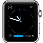 stand ring complication on simple watch face