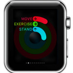 stand ring progress apple watch activity glance