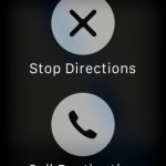 stop apple watch navigation
