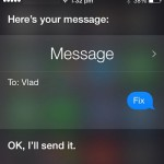 using Siri to send a message to yourself
