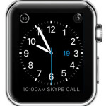 utility watch face with expanded calendar view