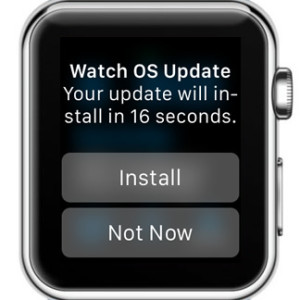 watch os 1.0.1 update install prompt