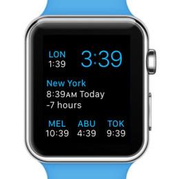 world clock watch face complications