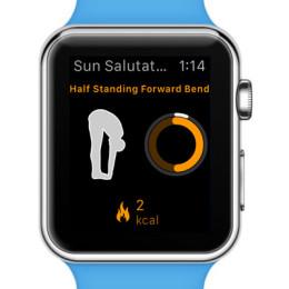 yoga 8 on Apple Watch