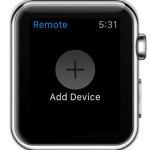add device to remote control from apple watch