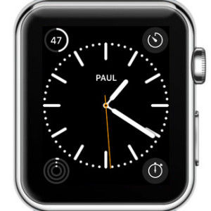 apple watch 4 character monogram