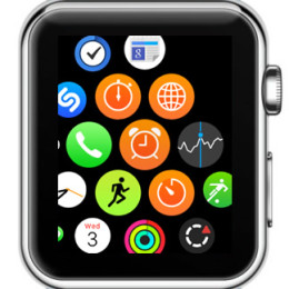 apple watch home screen app bundle