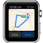 apple watch maps navigation
