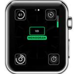 apple watch monogram complication