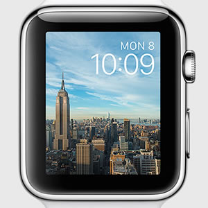 apple watch new york timelapse face