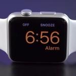 apple watch nightstand alarm
