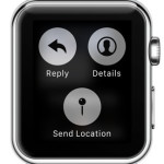 apple watch send location feature