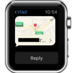 apple watch sent location data