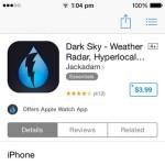 dark sky app store download