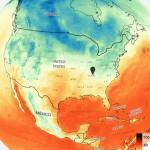 dark sky global temperature animation