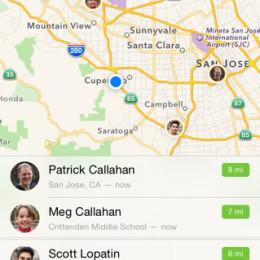 find my friends app demo