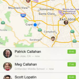 find my friends app demo