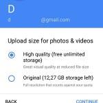 google photos upload size for photos & videos