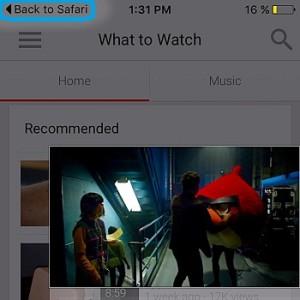 ios 9 back to previous app shortcut