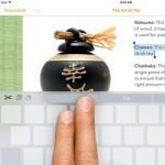 ios 9 keyboard cursor trick