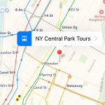 ios 9 maps transit view
