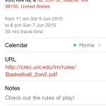 iphone calendar event details