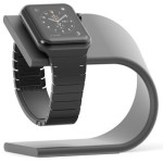 nomad apple watch space gray stand