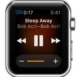remote controlling mac music playback from apple watch