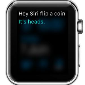 siri flipping a coin
