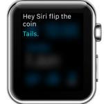tails siri coin flip