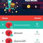 trivia crack challenge game results