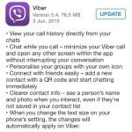viber 5.4 full update log