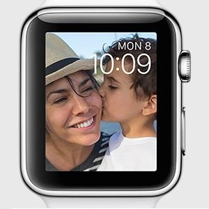 apple watch photo watch face