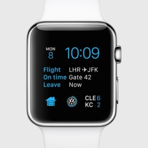 apple watch with third party complications